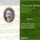 Jose Vianna da Motta - José Vianna da Motta: Piano Concerto in A major; Fantasia Dramatica; Ballada, Op 16 (2000)