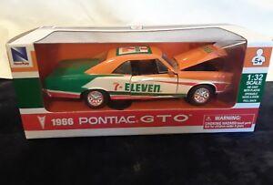NewRay-7-Eleven-1966-Pontiac-GTO-1-32-Pull-Back-Car-NIB