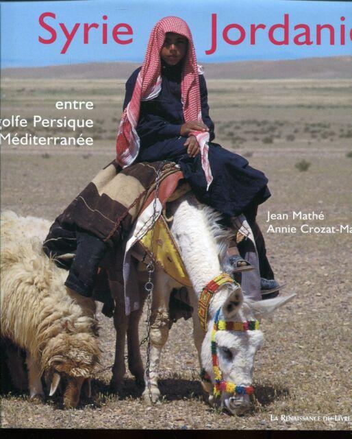 SYRIE JORDANIE golf persique et méditerranée..SUPERBE