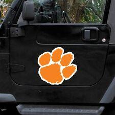 "Clemson Tigers 12"" Car Truck Auto Vinyl Magnet"