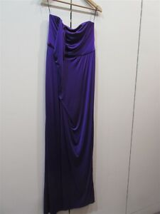 ME-TOO-Matthew-Eager-ROYAL-PURPLE-STRAPLESS-Gown-sz-12-bnwt-e47-RRP-419