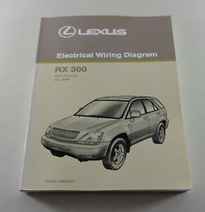 Workshop Manual Electrical Wiring Diagram Lexus Rx 300 Serie Mcu 15