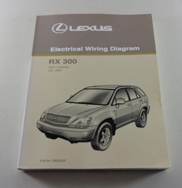 Workshop Manual Electrical Wiring Diagram Lexus Rx 300