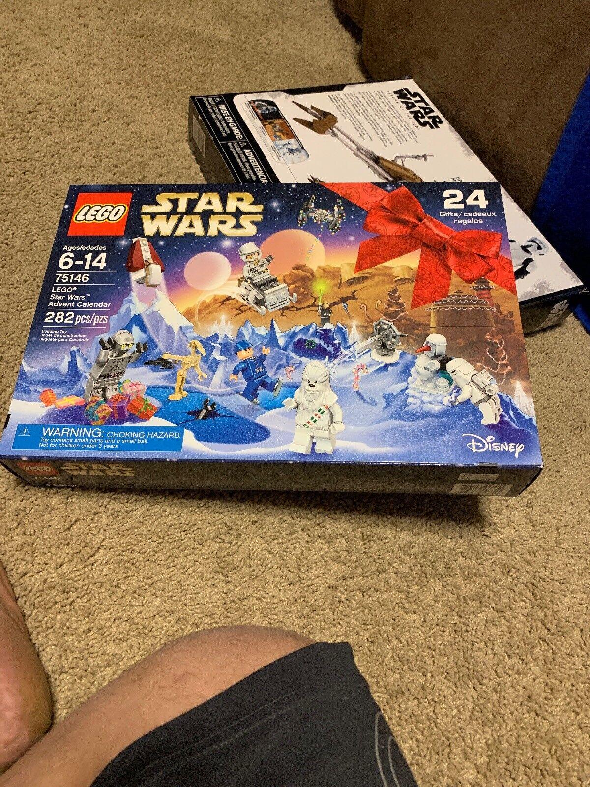 LEGO 2016 Star Wars Advent Calendar 75146 NEW Sealed In Box