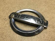 NISSAN 350Z 2003-2009 Genuine Front Bumper Z Badge Logo Silver Plastic - ZA018