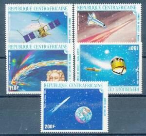 Actif 193608) L'afrique Centrale Nº 1203-7 ** Halley Cisaillement Comète-afficher Le Titre D'origine