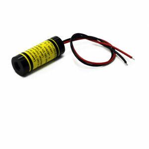 Linienlaser Strichlaser grün 520nm 7mW 10° 3VDC Aluminiumgehäuse ... - 70148442