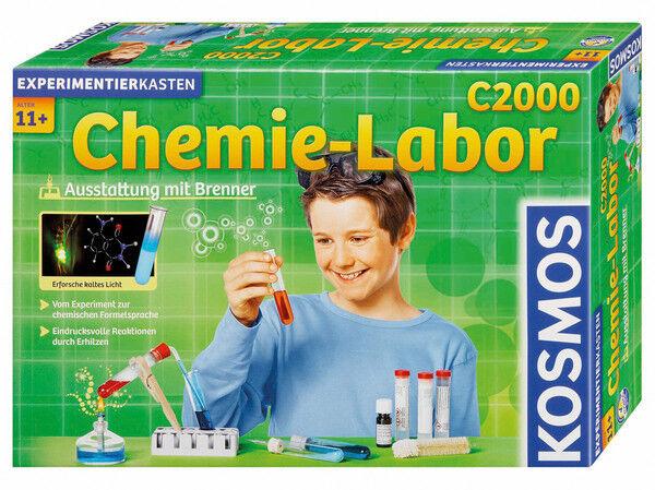 Kosmos Chemielabor C C C 2000 Experimentierkasten Chemie 640125 Neu & Ovp 0e0a60