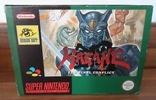 SNES NINTENDO Rare HAGANE Final Conflict complete boxed inc manual game