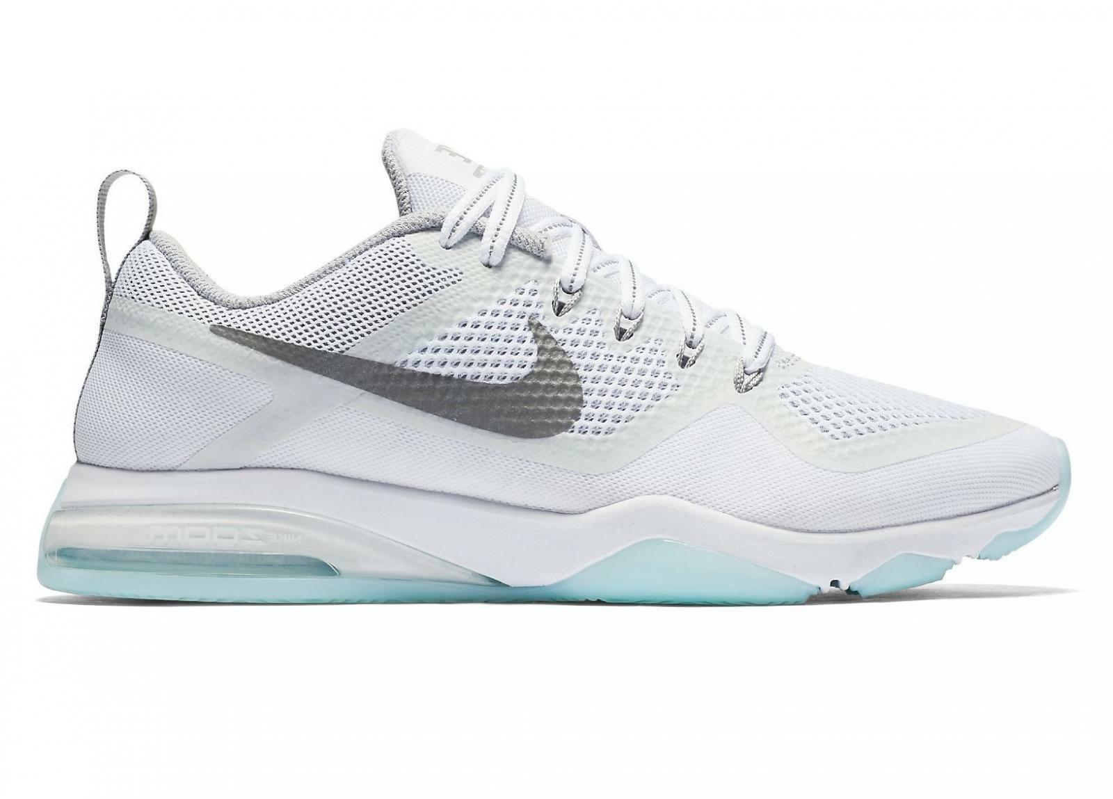Femme NIKE AIR ZOOM FITNESS REFLECT Blanc Trainers 922878 100