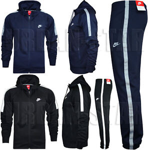 new product pre order wholesale price Details about Nike TRIBUTE Full Polyester Tracksuit Zip Hoody Jogging  Bottms Joggers