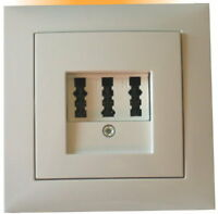 tae nfn telefon dose schalter taster isdn cat5e ebay. Black Bedroom Furniture Sets. Home Design Ideas
