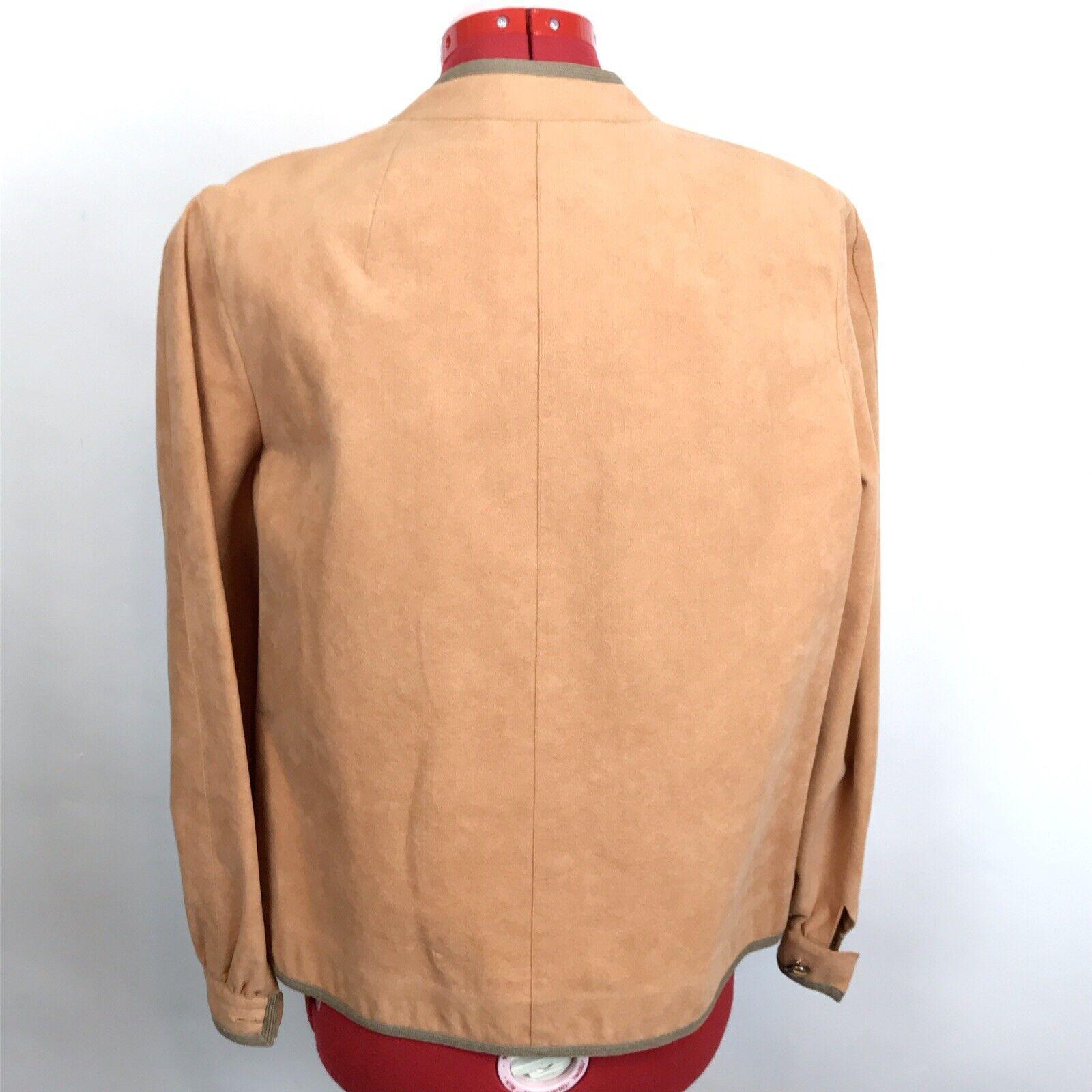Vintage Retro 70s Mollie Parnis Ultra Suede Jacke… - image 6