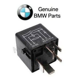 for bmw e46 e90 abs cycle relay 5 prong black genuine bmw. Black Bedroom Furniture Sets. Home Design Ideas