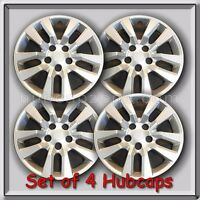 4 16 Silver Nissan Altima Hubcaps Fits 2014-2015 Hub Caps, Altima Wheel Covers