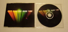 Single CD Daft Punk - One more Time  3 Tracks 2000  Rar