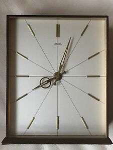 A-Vintage-Of-1960-039-s-034-SMITHS-TEMPORARY-034-8-Day-British-Mechanical-Move-Clock