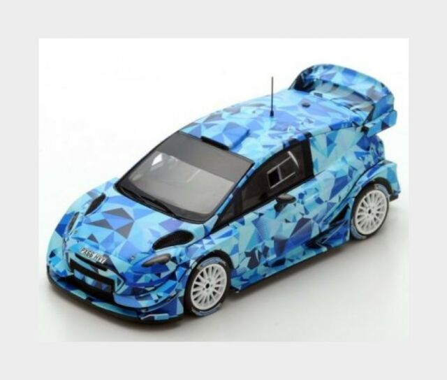 Ford England Fiesta Wrc Test Car Rally Montecarlo 2017 SPARK 1:43 S5157