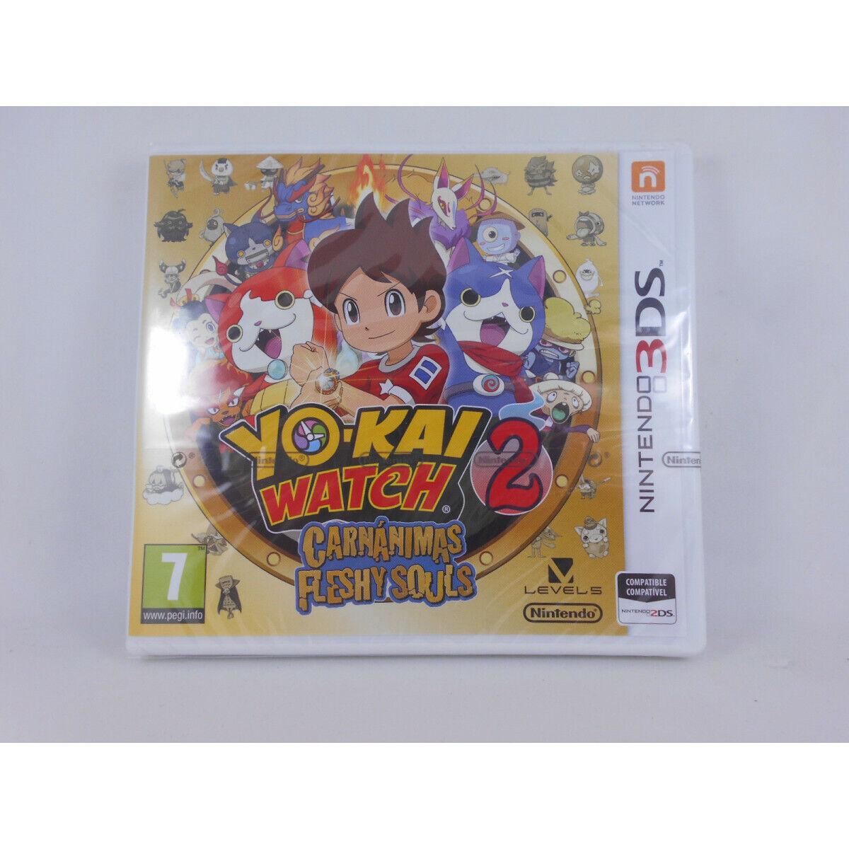 Yo-Kai Watch 2 Carnánimas/Flesh Souls - Nintendo 3DS - Nuevo a Estrenar...