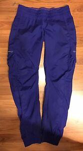 a31b6e4f7 Lululemon•Purple blue•Leader Of The Track•Pants• Lightweight•Warm Up ...