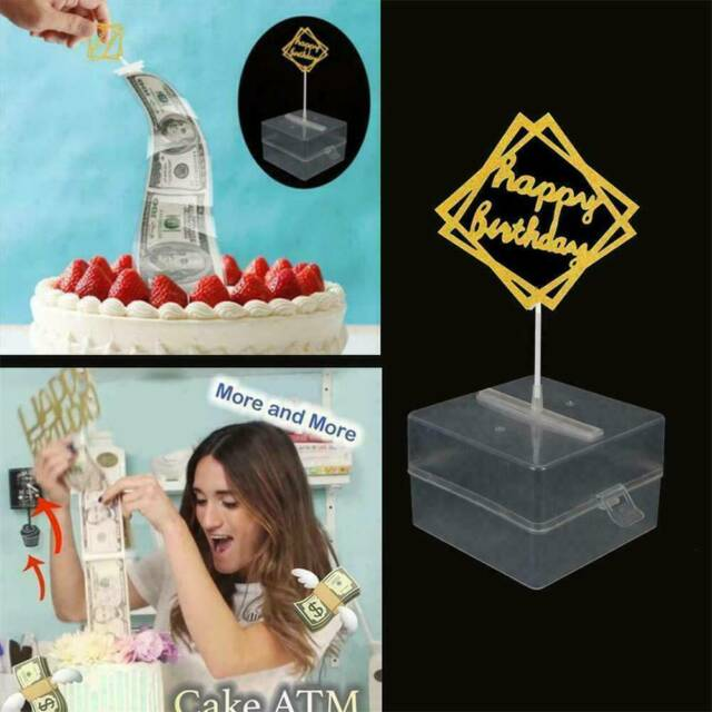 Incredible Funny Toy Box Cake Money Props Making Surprise For Birthday Cake Funny Birthday Cards Online Alyptdamsfinfo