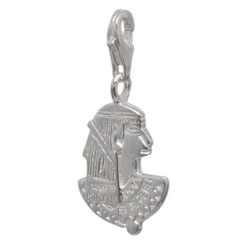 MELINA Charm Anhänger Ramses Pharao Silber 925