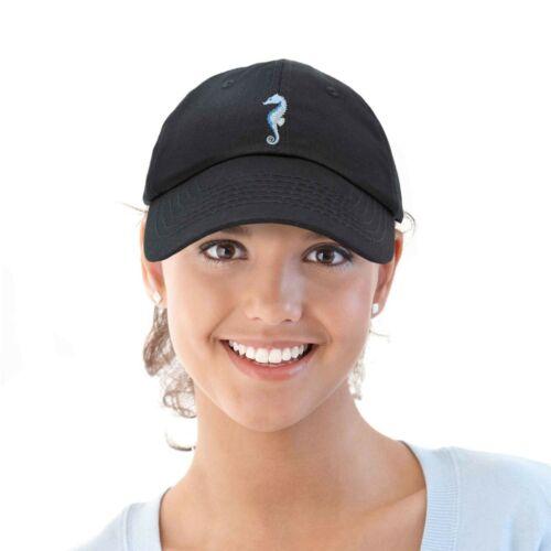DALIX Marine Seahorse Hat Womens Embroidered Baseball Cap
