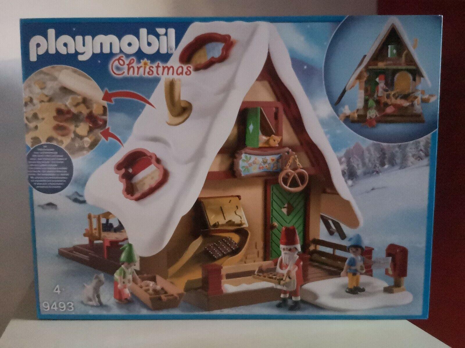 Playmobil Maison et atelier de Biscuit du Père Noël 9493 neuf