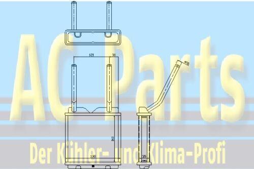 Wärmetauscher Innenraumheizung OPEL CALIBRA A 2.0 i