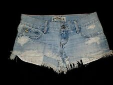 Abercrombie & Fitch Girls Shorts Size 14 Distressed Wonderfully #21S
