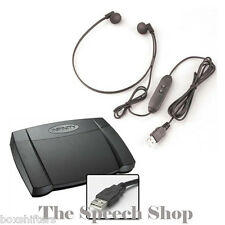 Infinity IN-USB2 Digital Transcription Foot Pedal & Spectra SP-USB Headset