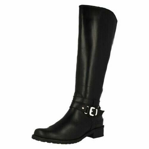 Damen Clarks Reiter Stil Stiefel Nessa Abbey