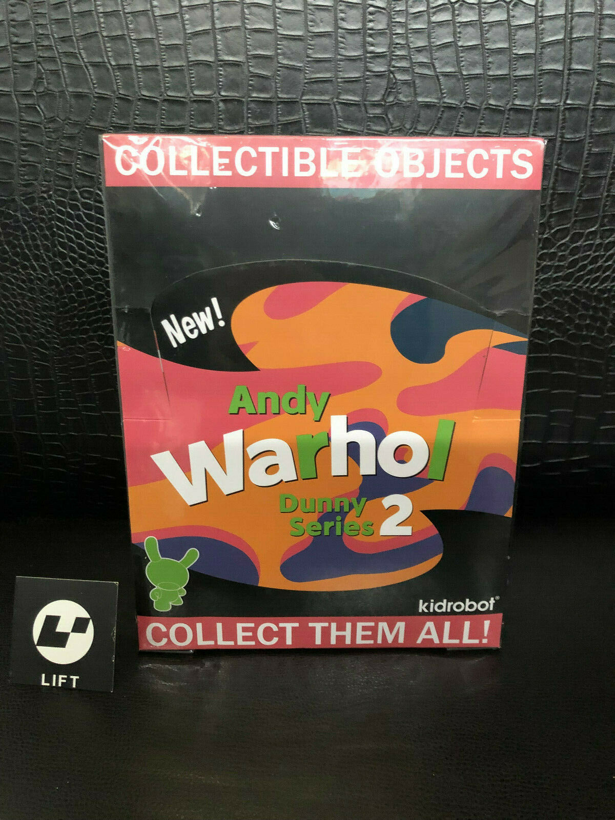 Andy Warhol Dunny Series 2 by by by Kidrobot, one sealed case of 24 pcs 135eae