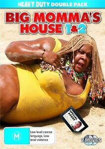 Big-Momma-039-s-House-Big-Momma-039-s-House-2-DVD-2-Disc-R4-Terrific-Condition