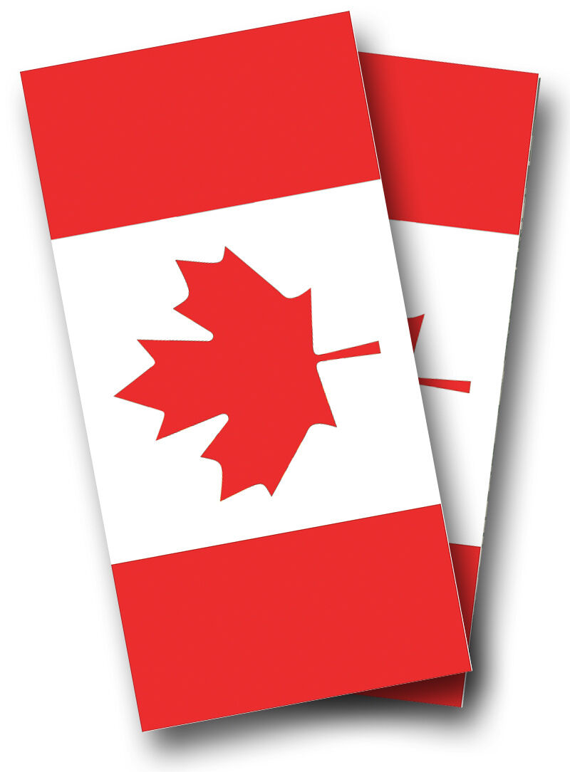 CANADIAN LEAF FLAG CORNHOLE WRAP SET High Quality  Vinyl Board DECAL w  Squeegee  brand on sale clearance