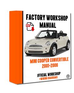 />/> OFFICIAL WORKSHOP Manual Service Repair Mini Cooper Convertible 2001-2006