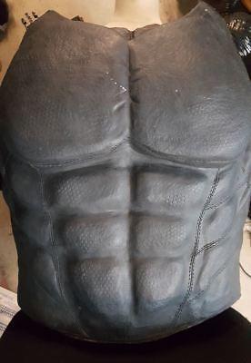 Custom made batman superhero chest muscle armor plate, arkham city, origin  style | eBay