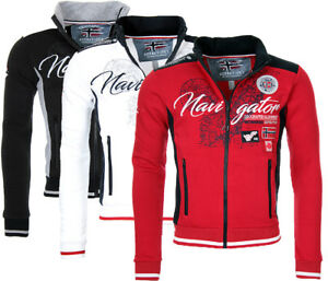 Geographical-Norway-Hommes-Sweat-Veste-Sweat-Veste-Hoodie-Sweater-Transition