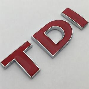 TDI-insignia-emblema-Nuevo-Para-Vw-Golf-Polo-Lupo-Passat-Eos-Transporter-MK4-MK5-MK6