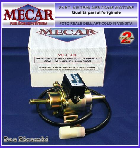 4008 Pompa Carburante con pressostato 0,1-0,4 bar camper genratore barca