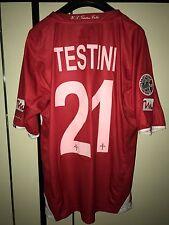 Maglia Shirt Trikot Maillot Camiseta Triestina Testini matchworn