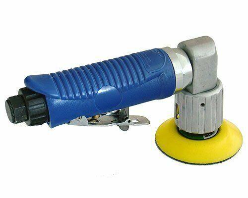 Dual Action Pneumatic Sander Professional Air Random Orbital Sander 125mm Heavy Duty Low Vibration