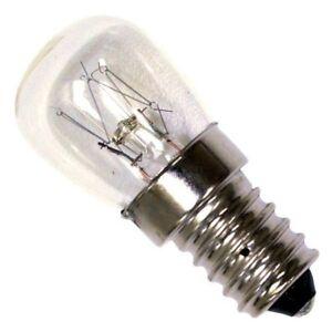 Diplomat 2x 15 Watt SES E14 300C Cooker Oven Microwave lamp Bulb