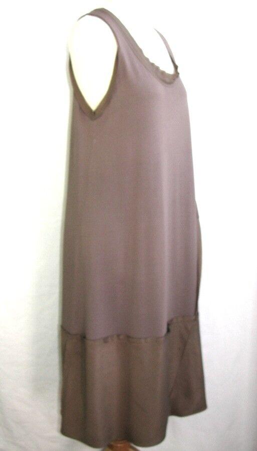 CREA CONCEPT - ROBE LONGUE FEMININE FEMININE FEMININE brown VIEUX pink size 40 - EXCL. ETAT a26df8
