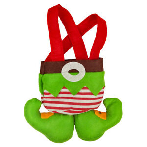 Christmas-Green-Gift-Bags-XMAS-Bags-Hanging-Tree-Decoration-New