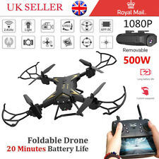 New RC Drone Quadcopter With 5MP HD Camera WIFI 6-Axis Foldable Altitude Hold