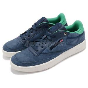 6df82ff79a7 Details about Montana Cans x Reebok Club C 85 PRO MCCE Blue Note  Ultramarine Men Shoes CM9271