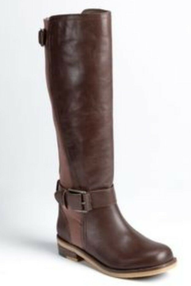 Lucky Brand Women's Leather Knee High Boots