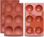 3 packs Baking Mold for Making Homedge Large 6-Cavité Demi Sphère moule en silicone