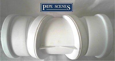 Soil Pipe 0-90° Adjustable Bend White 30° 60° Double Socket Swivel Joint 110mm